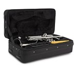 Elkhart 100TRS Trumpet Outfit in Silverplate