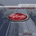 Stagg BA-4505 Medium Gauge (.045-.105) Strings for Bass Guitar