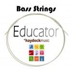 Educator EDBA4 100 Gauge Bass Steel E (4th) Guitar String
