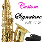 Signature Custom Gold Lacquered Tenor Saxophone Outfit 38SC-T169B