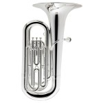 Besson Prodige BE187-2-0 Silverplated Tuba Outfit