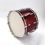 "Percussion Plus PP689 Concert Bass Drum 24"" - Wine Red"