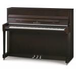 Kawai K200SL-DBWS Upright Piano in Dark Brown Walnut Satin