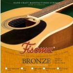Lenzner FISOMA Acoustic Medium Guage Phosphor Bronze Guitar Strings 12 to 52 - F2120