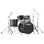 "Yamaha Rydeen 22"" Drum Kit w/ Hardware, Black Glitter RDP2F5BLGSET"