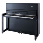 Irlmer Upright Supreme Piano - SP121 in Polished Ebony