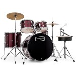 Mapex Tornado in Burgundy