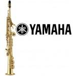 Yamaha YSS475II Intermediate Gold Lacquer Soprano Saxophone